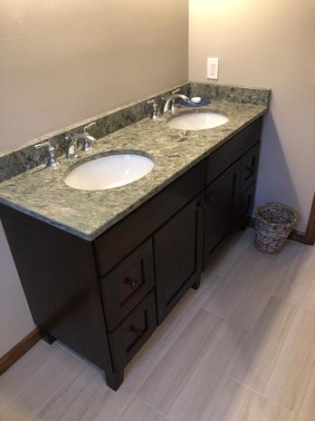 Bathroom with Upgraded Kohler Shower with Transfer Bench
