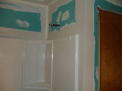 Day 5 & Day 6 - SHEETROCK/PREP FOR PAINT