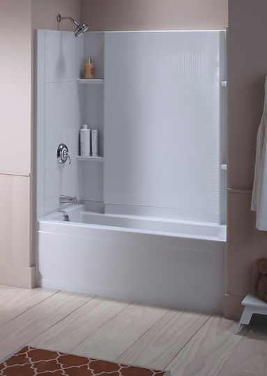 Accord Tub/Shower with Shelving
