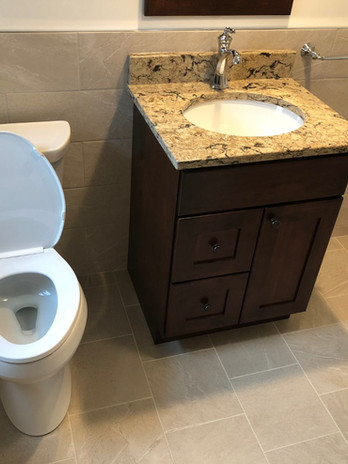 Bathroom with Tub and Tile Upgrade