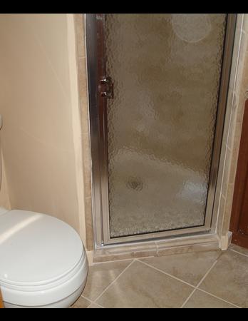 Custom Tile Corner Shower