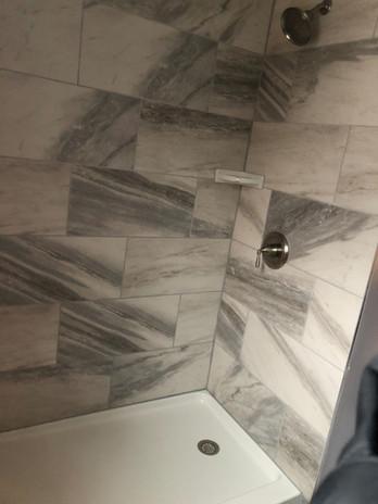 Custom Shower with Tile Upgrade