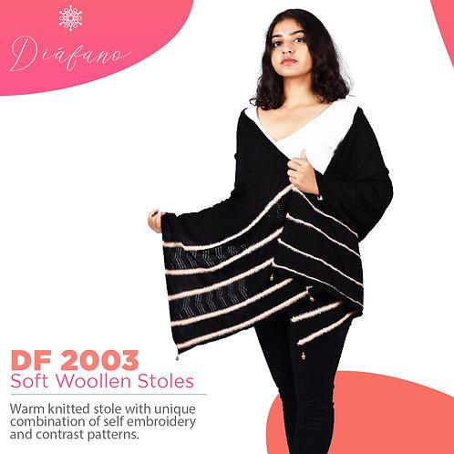 Diafano Printed Woollen Stoles DF 2003
