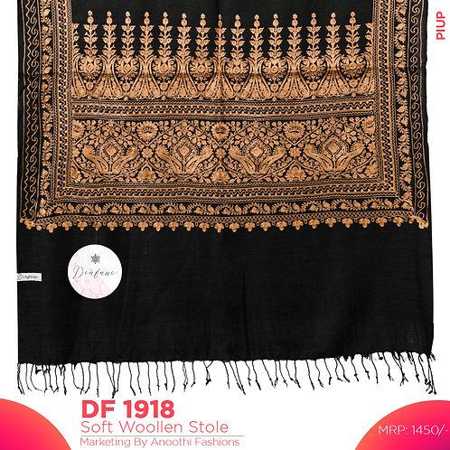 Kashmiri Premium Woollen Stole DF 1918