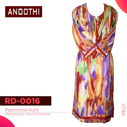 Anoothi New Collection Woollen Kurti RD 0016