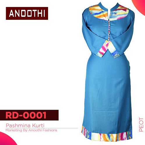 Anoothi New Collection Woollen Kurti RD 0001