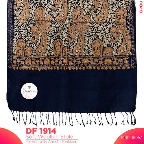 Kashmiri Premium Woollen Stole DF 1914