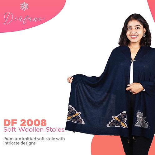 Diafano Printed Woollen Stoles DF2008