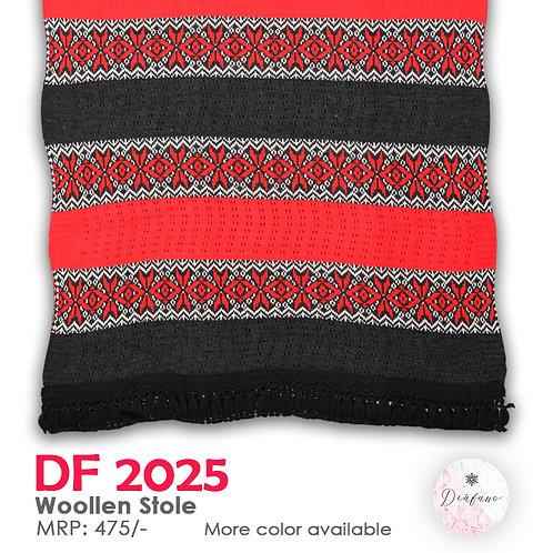 Soft Woollen Stole DF 2025