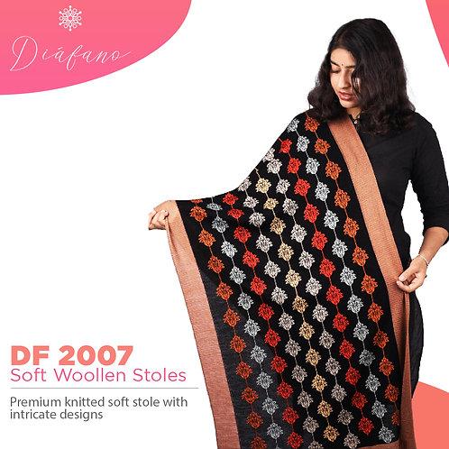 Diafano Printed Woollen Stoles DF 2007