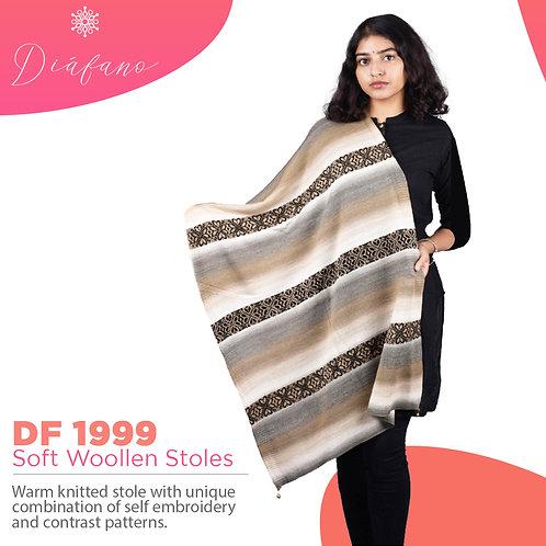 Diafano Printed Woollen Stoles DF 1999