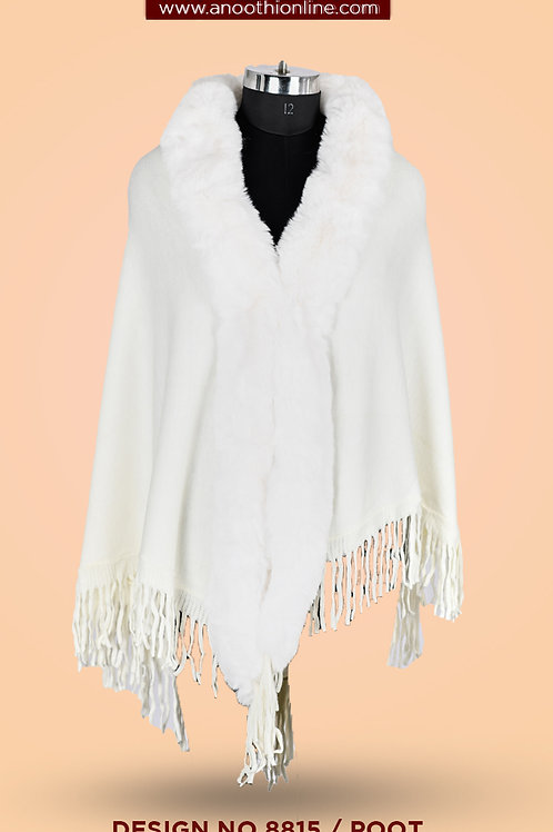 Anoothi Fur Poncho 8815