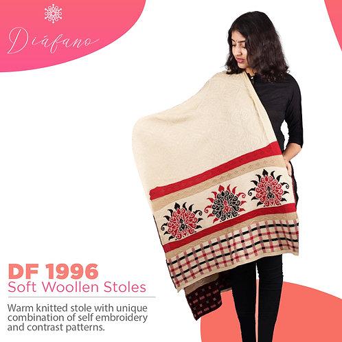 Diafano Printed Woollen Stoles DF 1996
