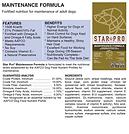 Dog Food - Maintenance info.png