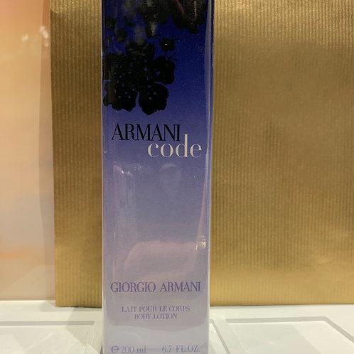 GIORGIO ARMANI - Armani Code - Body Lotion