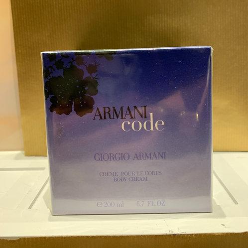 GIORGIO ARMANI - Armani Code - Body Cream