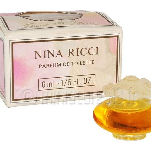 NINA RICCI - Fleur de Fleurs- miniatuur - Pdt