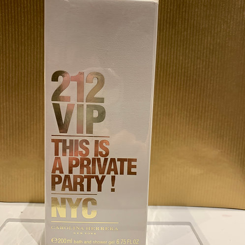 CAROLINA HERRERA - 212 Vip - Bath & Shower Gel