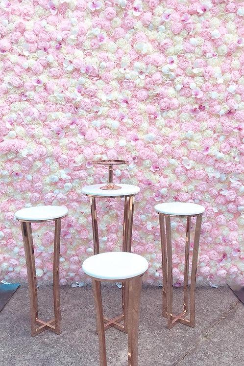 Pretty In Pink Flower Wall