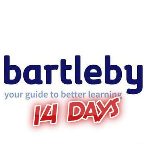 Bartleby function account 14 days