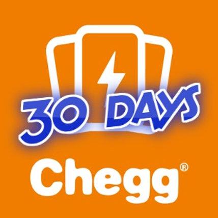 Chegg Premium Function Account 30 Days