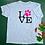 Thumbnail: LOVE Pink Unisex T-Shirt