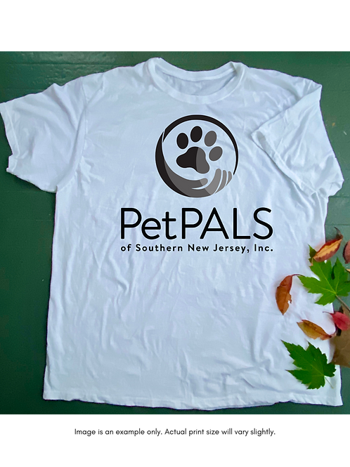 PetPALS of Southern New Jersey Black Unisex T-Shirt