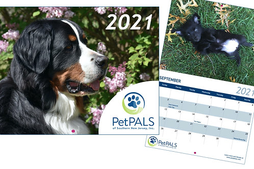 2021 PetPALS Calendar