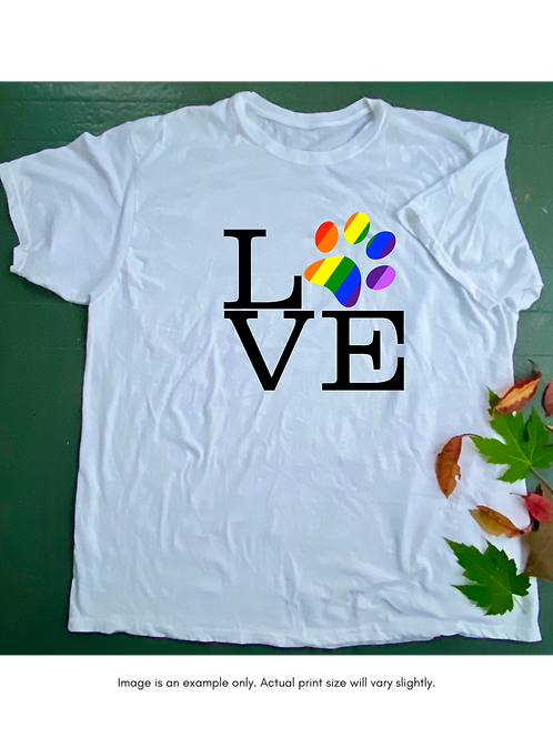 LOVE Pride Unisex T-Shirt