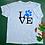 Thumbnail: LOVE Blue Unisex T-Shirt