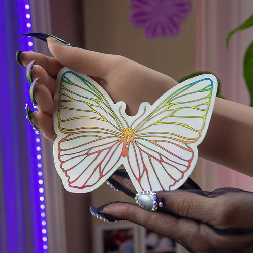 Tropical Butterfly Baby Decal