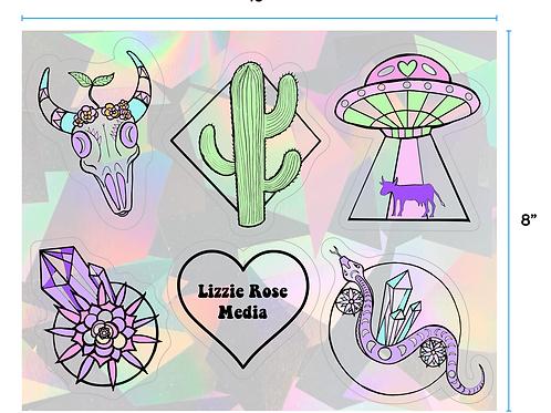 Desert Daze Sticker Pack