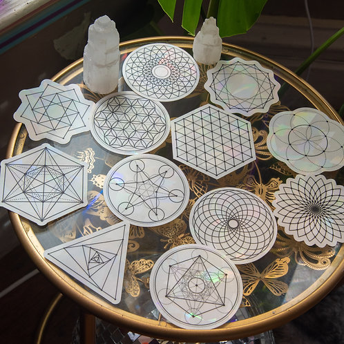 SACRED GEOMETRY DECAL PACK