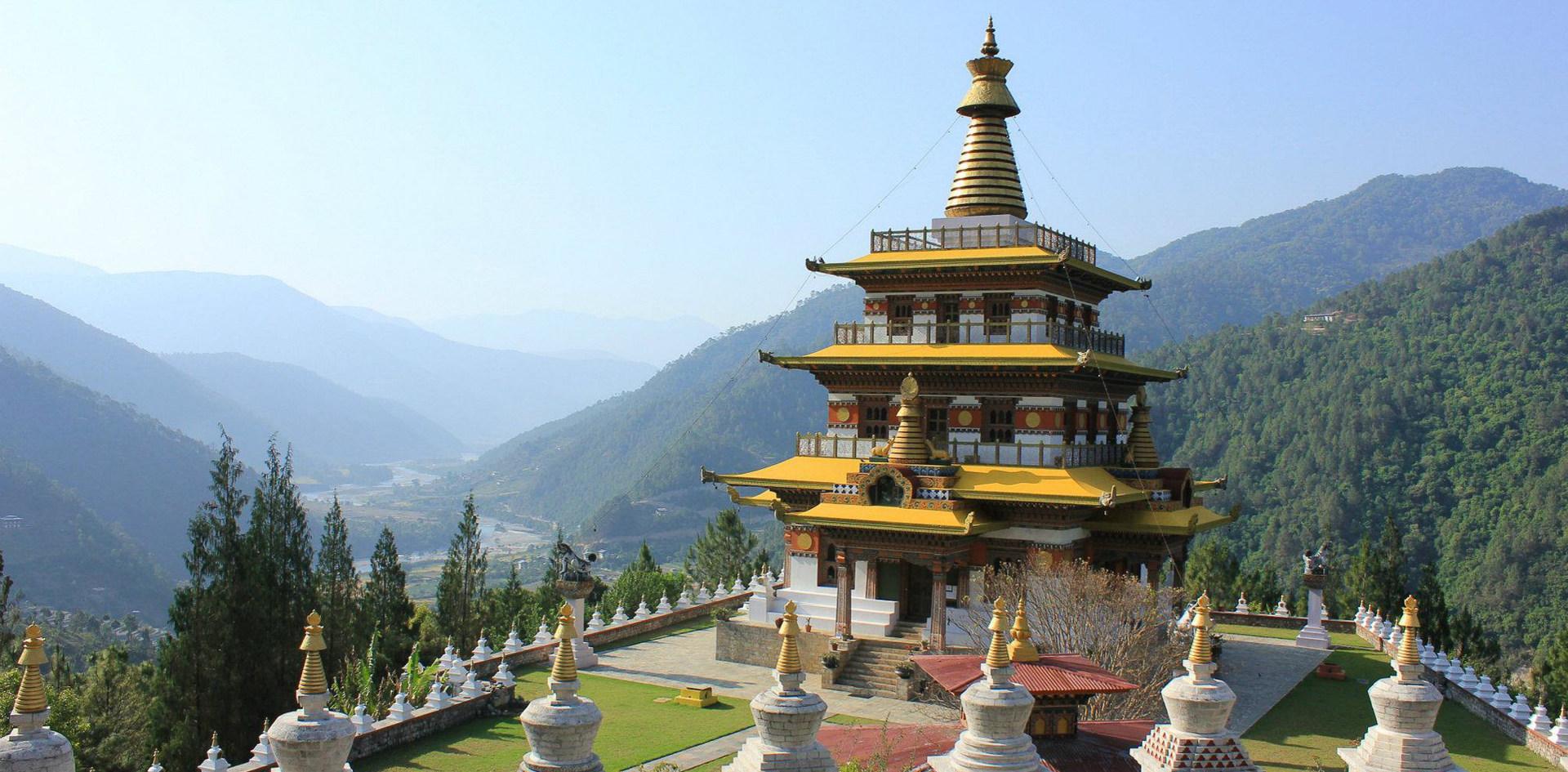 卡姆沙耶里納耶紀念碑Khamsum Yuelley Namgyal Chorten