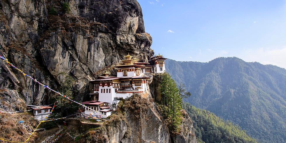 一生必遊國家~不丹7日靜心慢遊 (日期日後公佈)