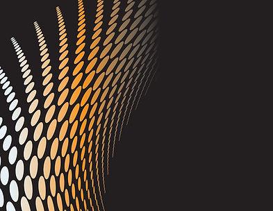 fundo abstrato preto e laranja
