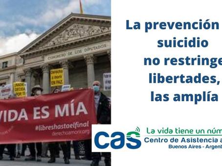 Eutanasia y prevención del suicidio: ¿Son opuestos?