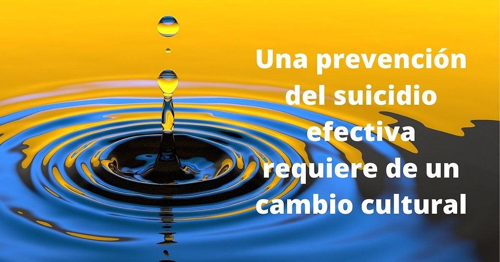 Una prevención del suicidio efectiva req