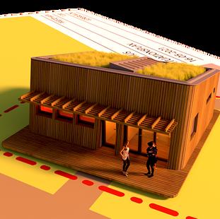 Sauna i Præstø Havn