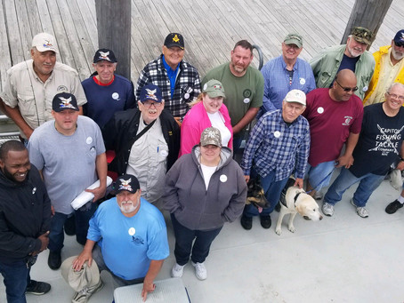 2019 Disabled Veterans Fishing Outing