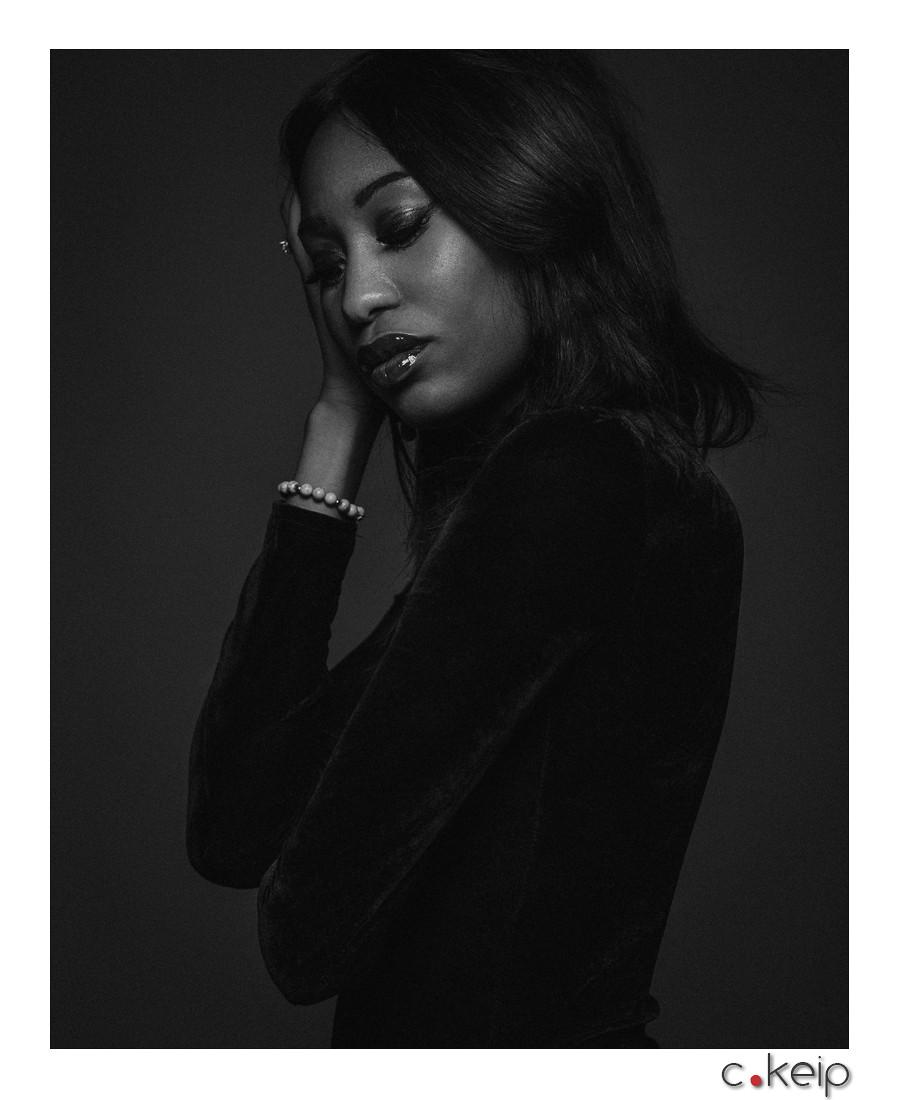 Aix-en-Provence - February 2017 Lightning & Photographer: Christophe Keip Model: Andréa