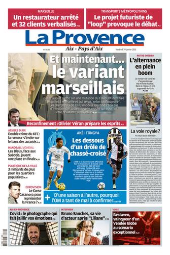 29 Janvier 2021 - La Provence