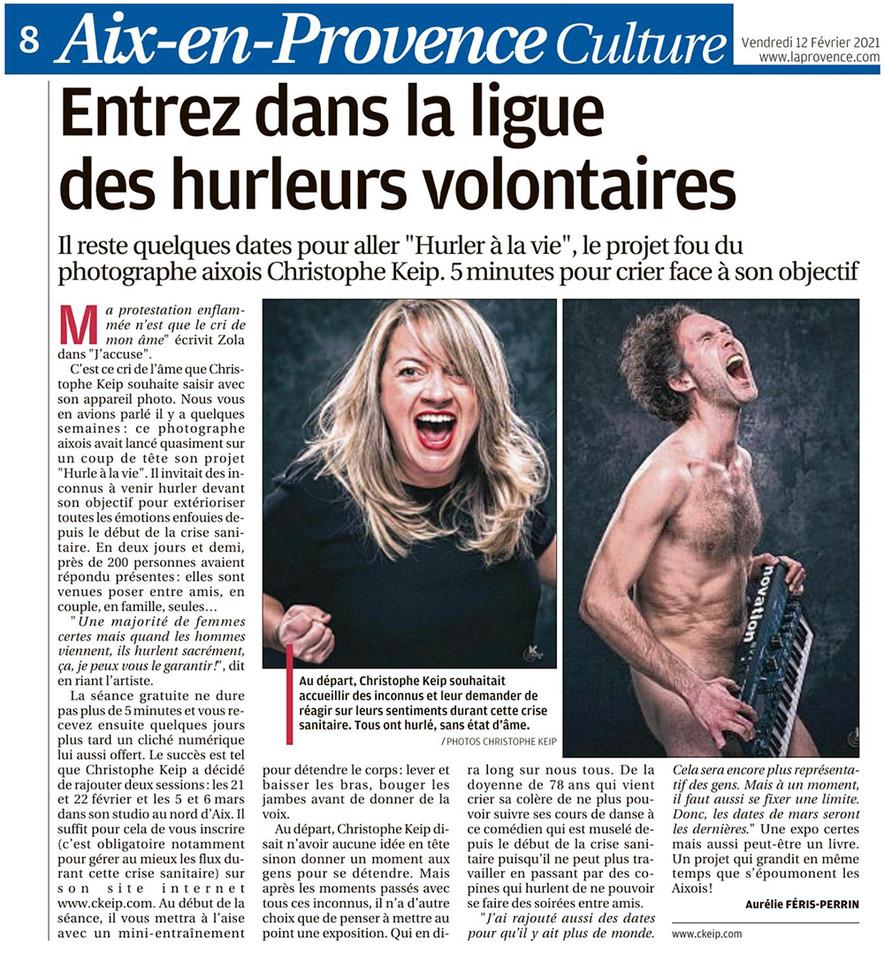 12 Février 2021 - La Provence