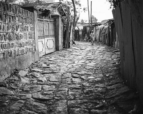In the Slum 3 (Ethiopia)