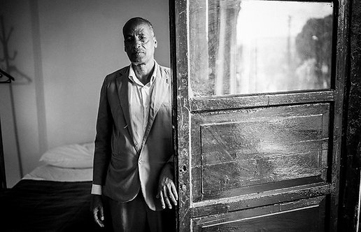 Taitu Hotel Doorkeeper (Ethiopia)