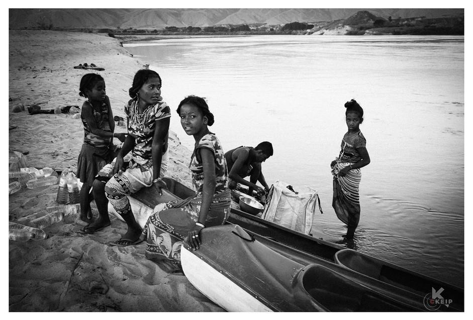 sur les rives du Manambolo