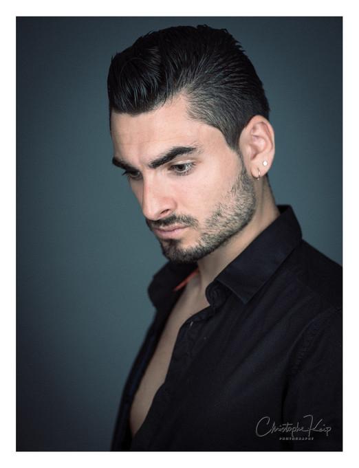 Aix-en-Provence - June 2017 Lightning & Photographer: Christophe Keip Model: Jimmy