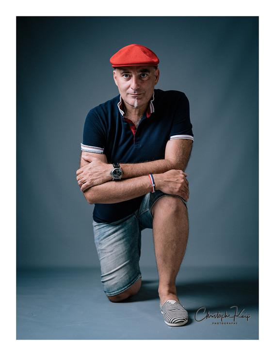 Aix-en-Provence - August 2017 Lightning & Photographer: Christophe Keip Model: Patrice