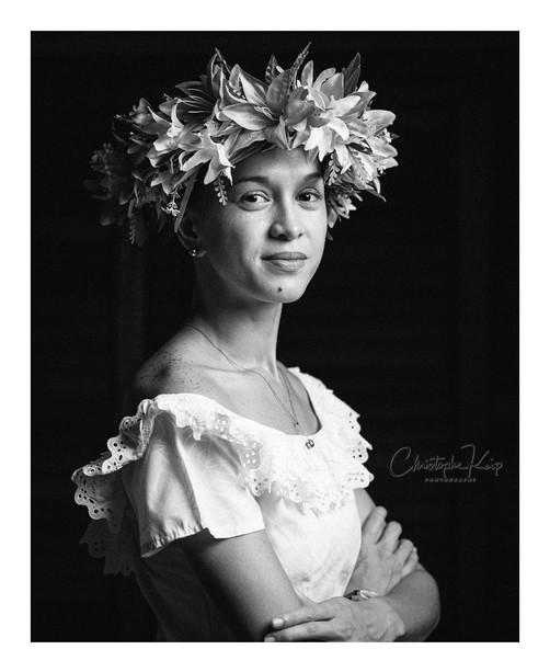 Bora Bora - October 2017 Lightning & Photographer: Christophe Keip Artistic Director: Sangie Model: Tara