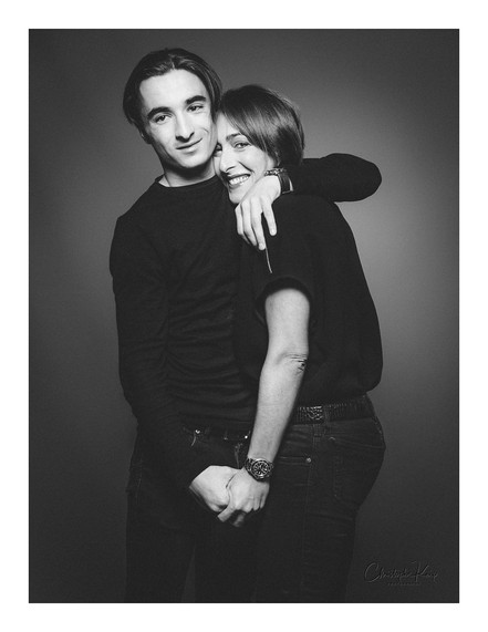 Aix-en-Provence - December 2017 Lightning & Photographer: Christophe Keip Artistic Director: Sangie MUA: Melissa Models: Deborah & Hugo